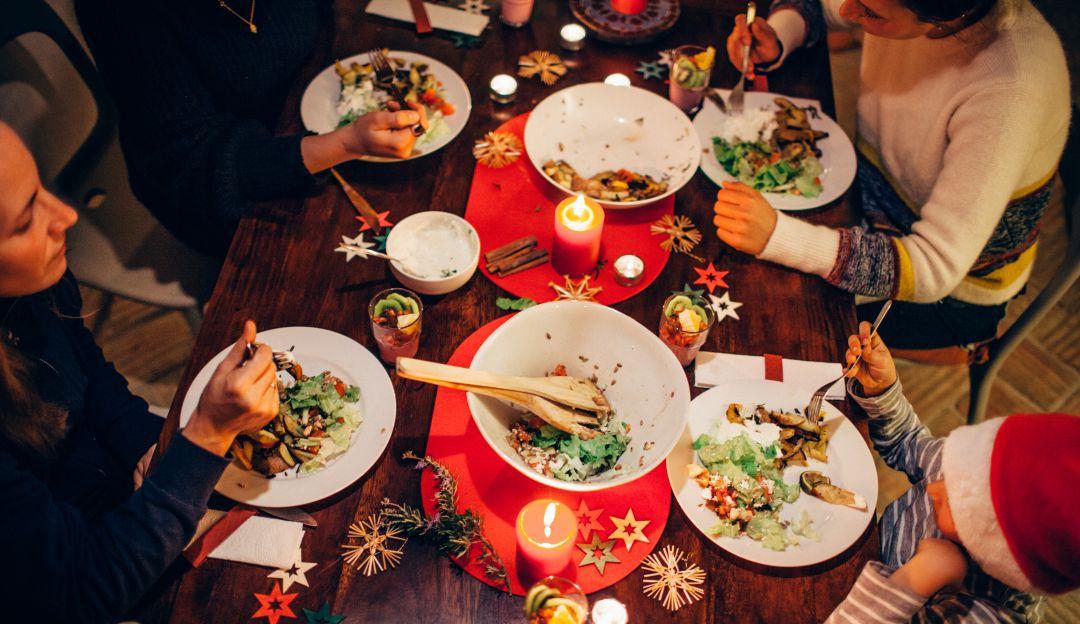 Cocina saludable y placentera en las celebraciones de diciembre