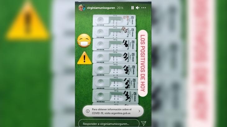 La bioquimica de un laboratorio privado de San Vicente que publico varios resultados positivos de coronavirus no los notifico ante las autoridades, como indica la ley