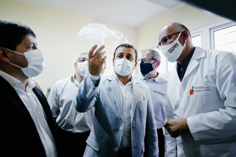 Herrera Ahuad inauguro el nuevo Centro Misionero de Investigacion y Control de Enfermedades Zoonoticas y Vectoriales en Posadas