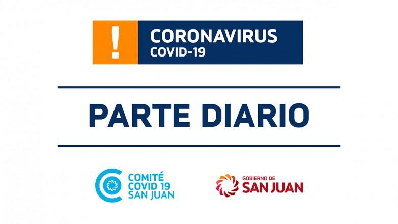 Parte de Salud Publica sobre coronavirus Nº296 - 19/12