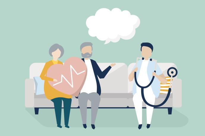 Demencia: Asi afecta la salud cardiaca en la mediana edad