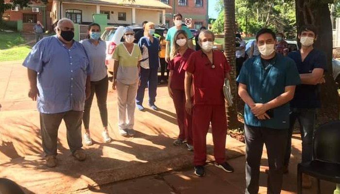 Señalan que hay entusiasmo y expectativas en los trabajadores del Hospital de Puerto Iguazu por el inicio de la campaña de vacunacion contra el Covid-19