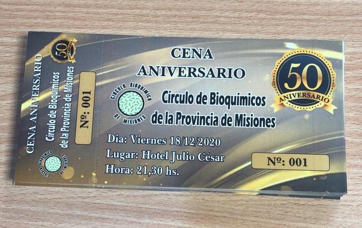 El Circulo de Bioquimicos de la provincia de Misiones celebra 50 años de vida en un contexto sanitario que revalorizo la labor de la profesion