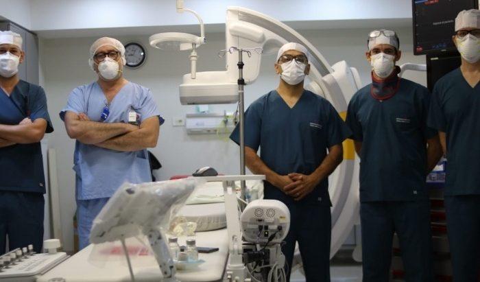 Se realizo por primera vez en Misiones una intervencion al corazon minimamente invasiva para pacientes con riesgo de sufrir un ACV