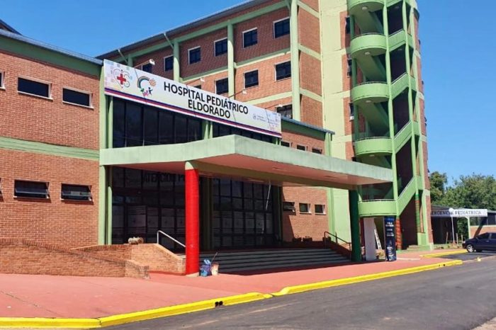Con la presencia del Gobernador de Misiones, inauguraron el Hospital Pediatrico de Eldorado