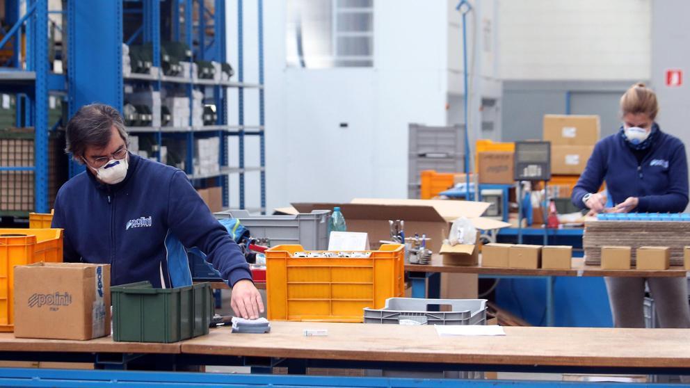 El empleo asalariado registrado crecio por primera vez en septiembre desde el inicio de la pandemia