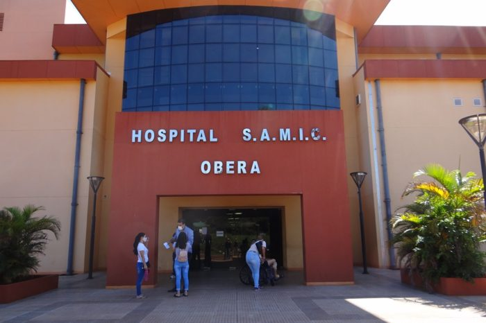 Coronavirus: El Hospital Samic de Obera, comenzo a hacer testeos rapidos gratuitos a pacientes con sintomas de COVID 19