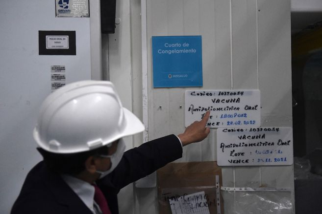 OPS dice que la vacuna llegaria a Colombia la primera semana de febrero