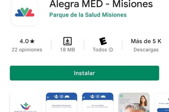 Misiones suma mas canales de consultas sobre COVID 19 a traves de la aplicacion ALEGRA MED MISIONES