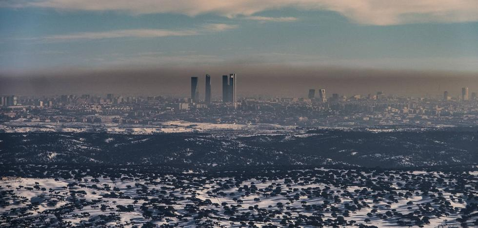 Madrid es la ciudad europea con mas muertes por los gases de vehiculos
