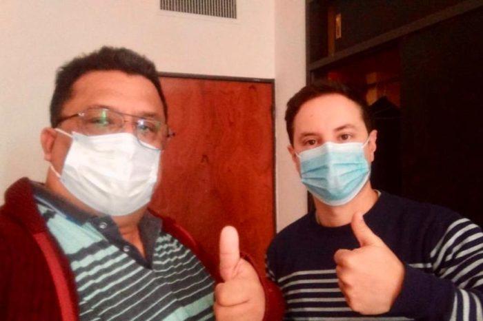 Roberto Velazquez y Gaston Gomez Cuba:medicos heroes, lo que nos dejo este 2020 – Vision Misionera