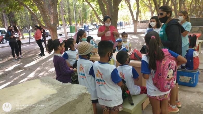 Realizaron controles sanitarios a niños de San Martin