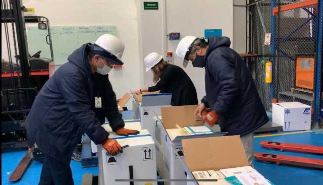 Llegaran otras 966 vacunas de Pfizer para Caldas