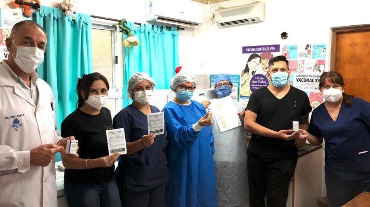 Misiones: Puerto Rico comenzo el cronograma de vacunacion con la vacuna Covishield
