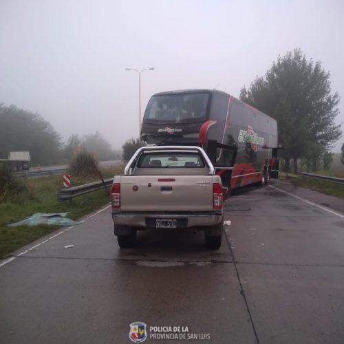 San Luis: choque en cadena deja 3 muertos en autopista