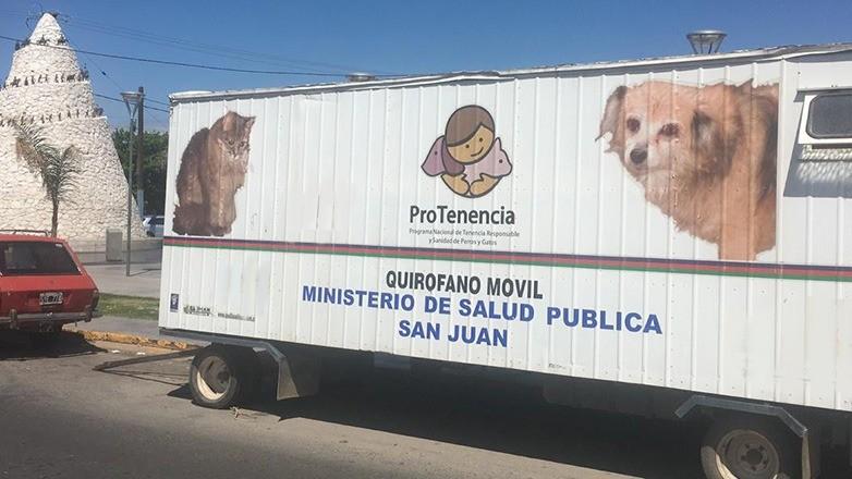 El quirofano movil de mascotas de Salud Publica continuara una semana mas en Marquesado