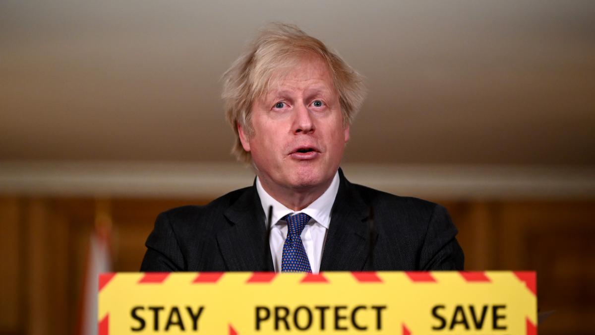 Johnson anuncia una desescalada