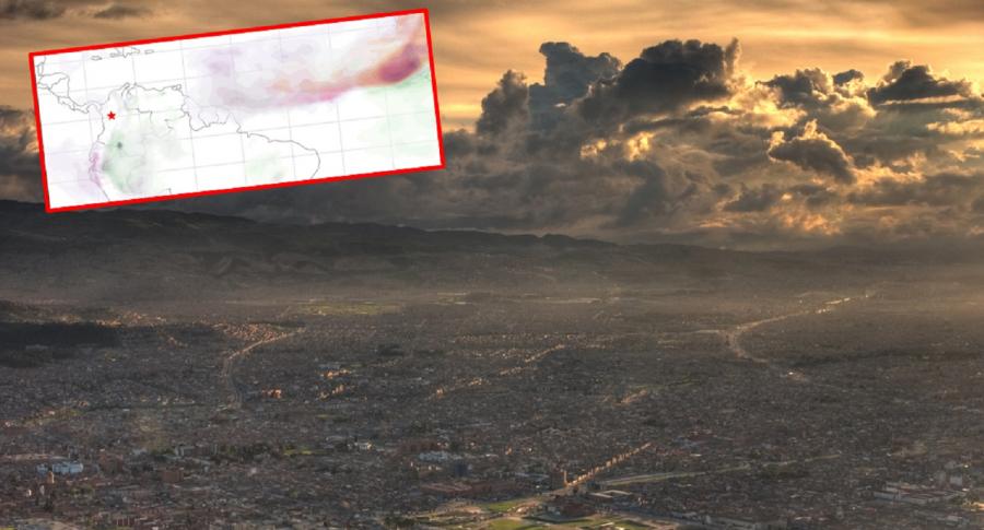 Riniticos, en alerta; gigantesca nube de polvo esta a punto de llegar desde el Sahara