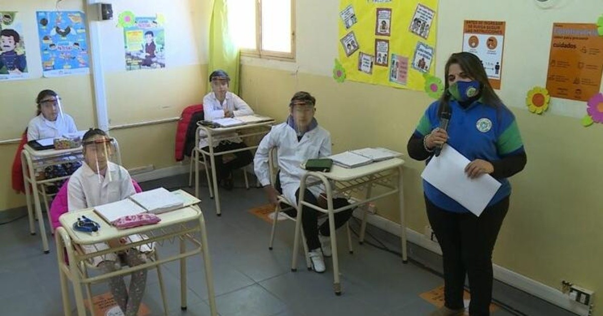 Gobierno bonaerense definio que la rotacion de alumnos presenciales sera semanal