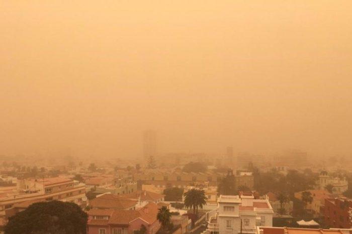 La exposicion al polvo desertico aumenta un 2% el riesgo de muerte cardiovascular el mismo dia que se inhala