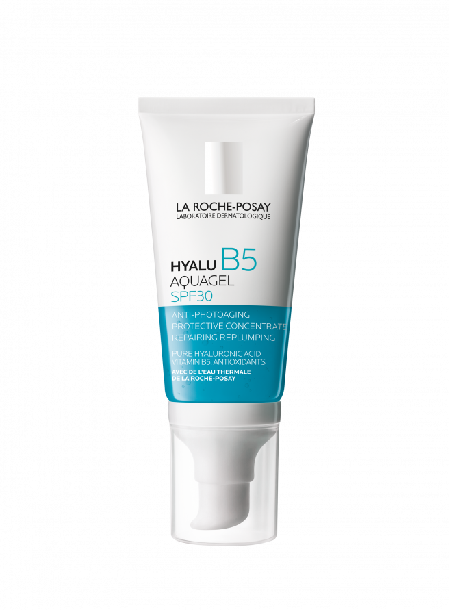 Gel hidratante facial Hyalu B5 Aquagel SPF30.