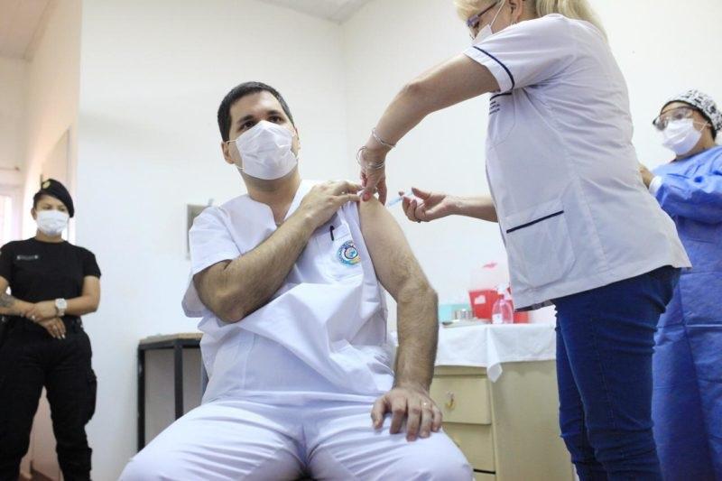 """Coronavirus: """"Argentina es el segundo pais con mas vacunados en Latinoamerica"""", afirmo Carlos Arce, vicegobernador de Misiones"""