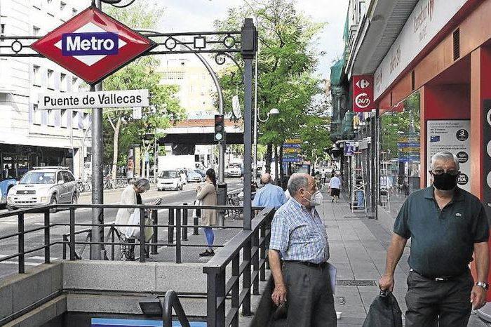 Las zonas pobres de las ciudades sufren mas casos de covid-19