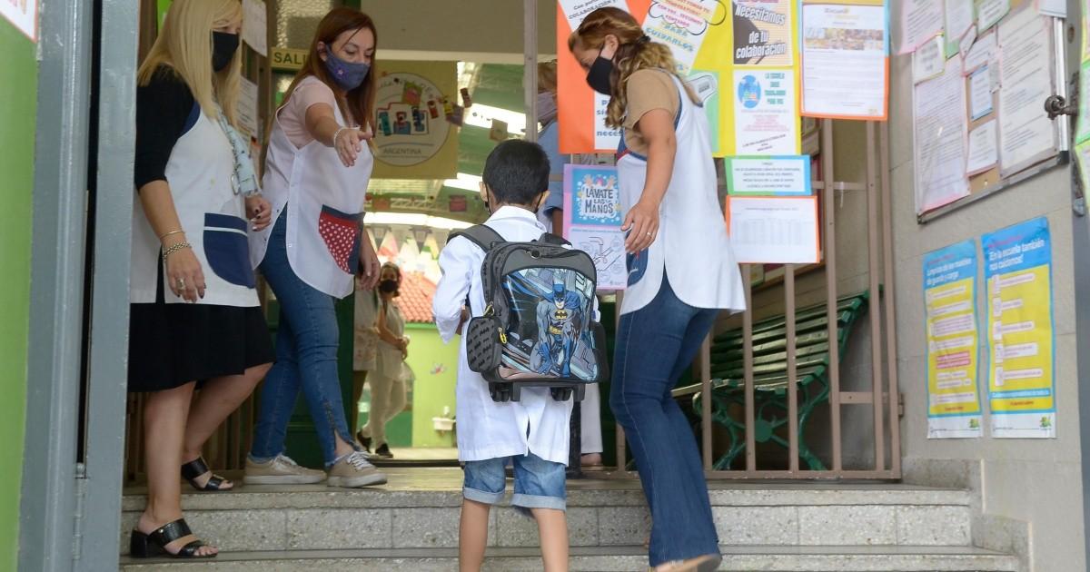 Coronavirus: asi fue la vuelta a clases presenciales en la Ciudad