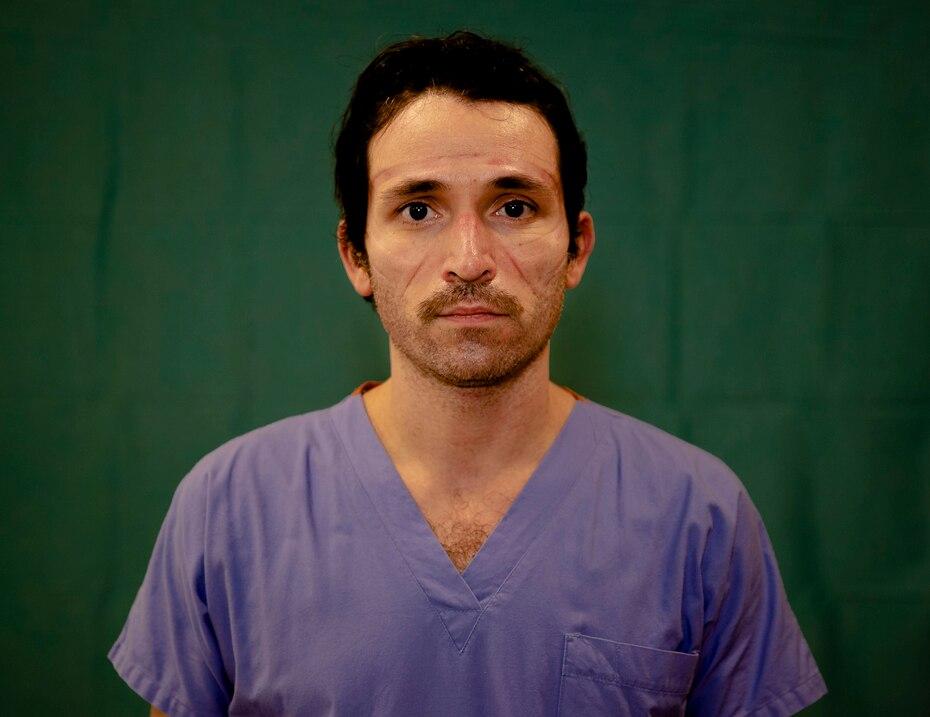 Luca Tarantino, de 37 años, electrofisiologo del hospital Humanitas Gavazzeni de Bergamo.