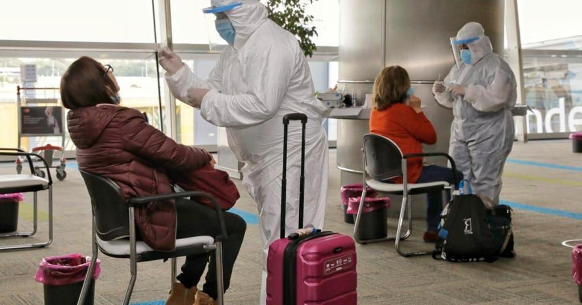 Coronavirus: 16 pasajeros dieron positivo en los testeos realizados en Aeroparque y Ezeiza