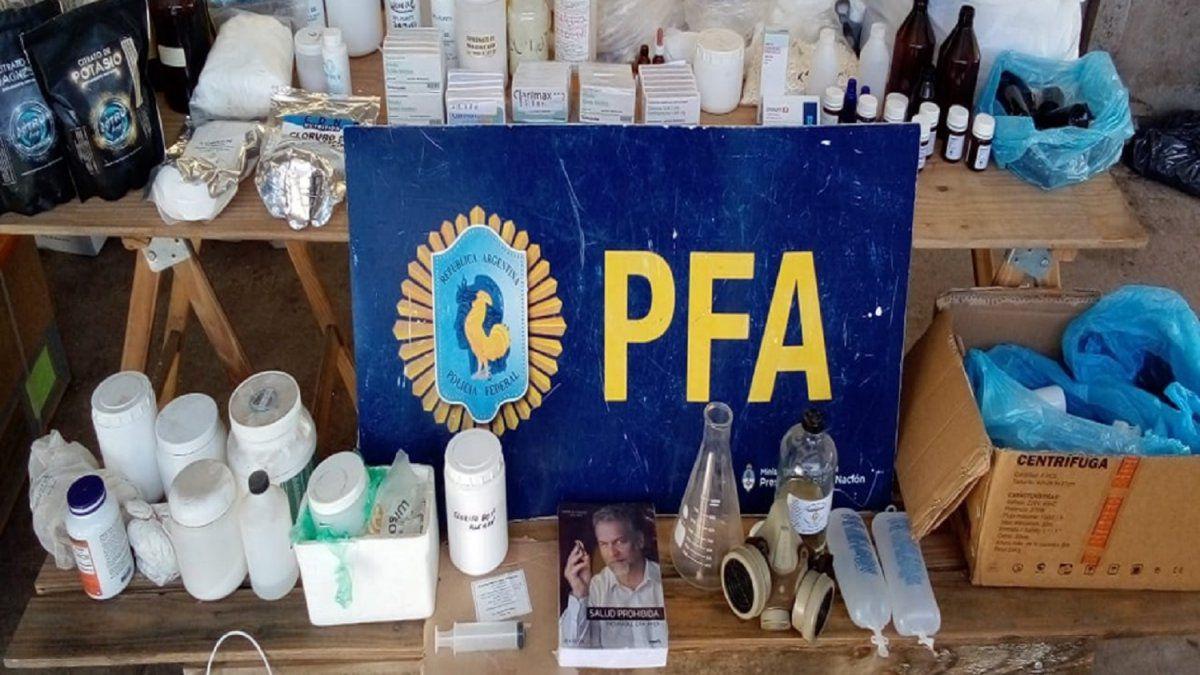 """Desmantelan laboratorios que elaboraban dioxido de cloro y lo vendian como """"producto milagroso"""""""