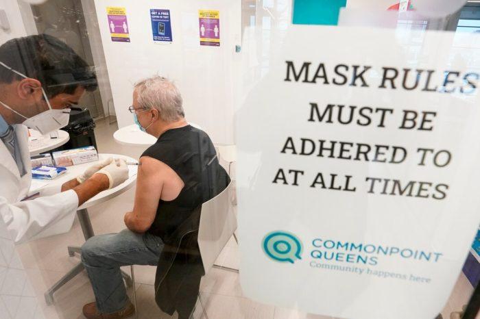 Nueva York anuncia plan de vacunacion para mayores de 30 años