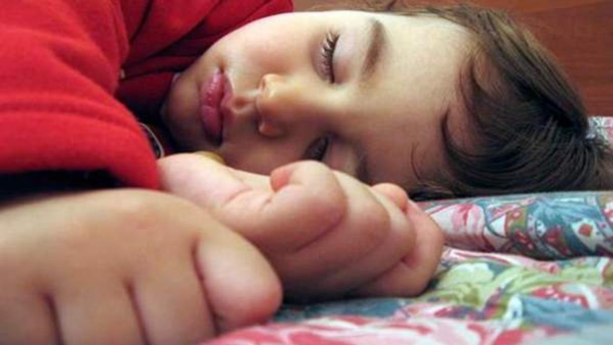 Cinco consejos para que los niños se duerman esta noche con el cambio de hora