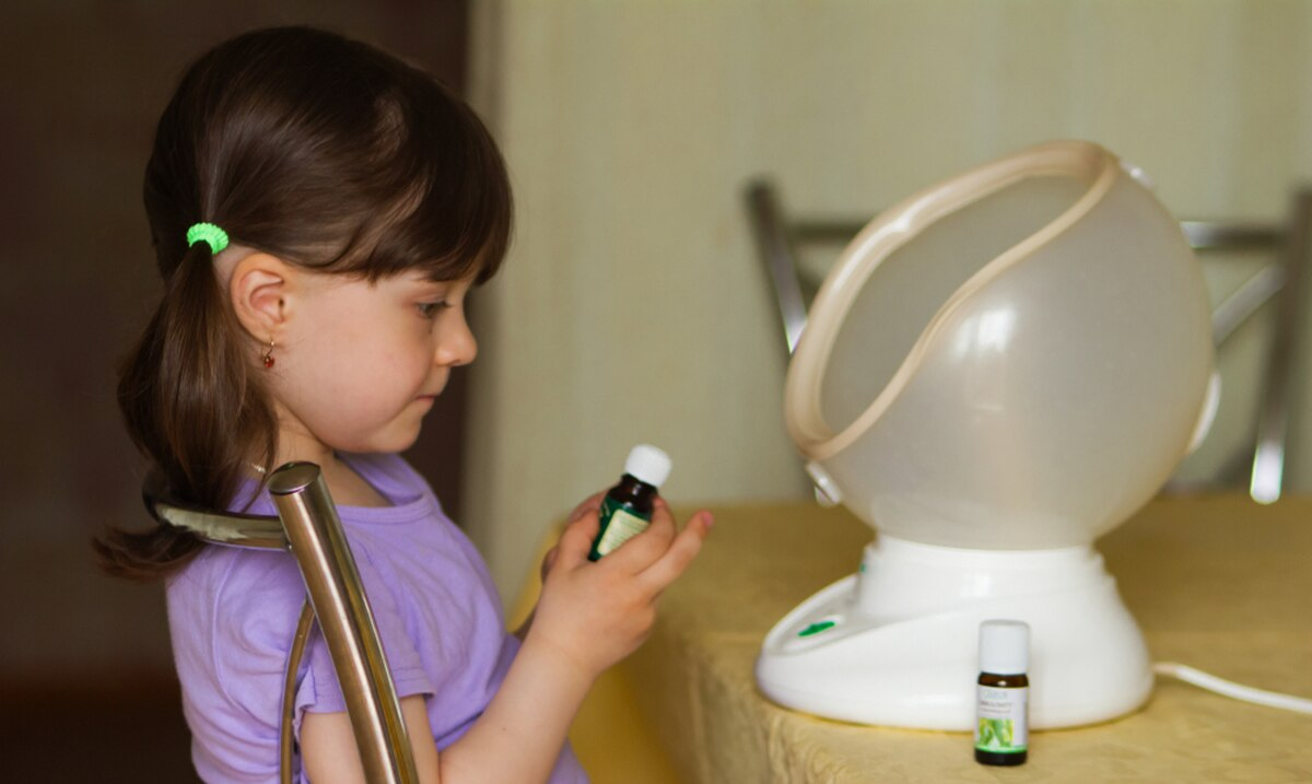 Terapia con aceites esenciales para niños que perdieron el olfato por COVID-19