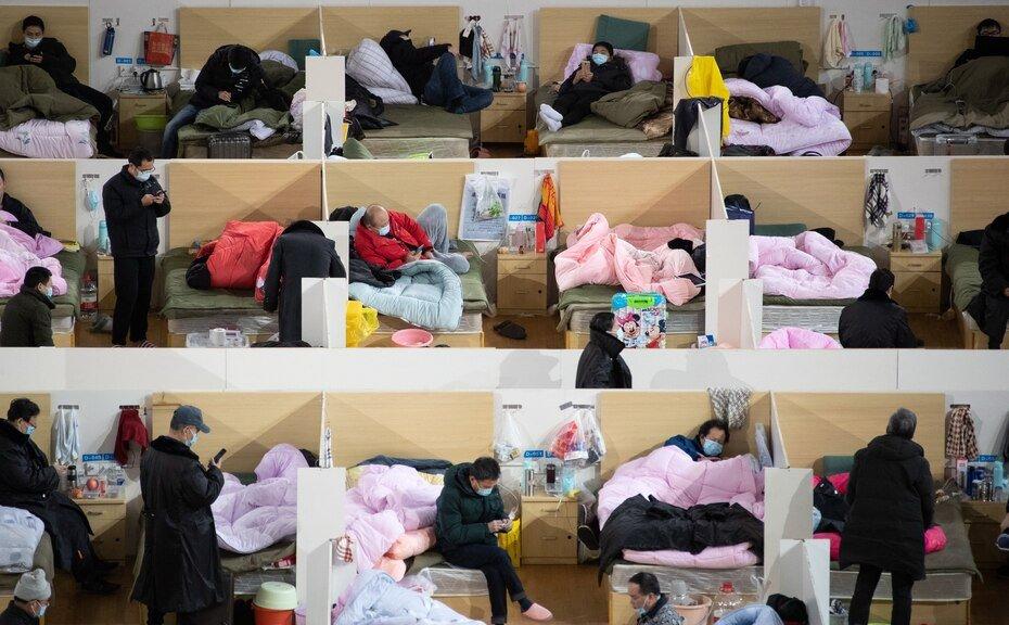 Foto del 19 de febrero de 2020 de hospital en Wuhan, China. La enfermedad causada por el nuevo coronavirus (SARS-CoV-2) ha sido oficialmente nombrada COVID-19 por la Organizacion Mundial de la Salud (OMS). El brote, que se origino en la ciudad china de Wuhan, ha matado hasta ahora a mas de 2,000 personas con mas de 75,000 infectadas en todo el mundo, principalmente en China.