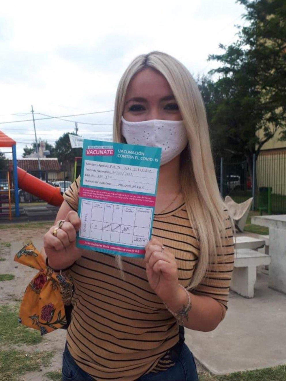 Nuevo escandalo en la vacunacion vip: una militante de 18 cercana a Jorge Ferraresi se vacuno