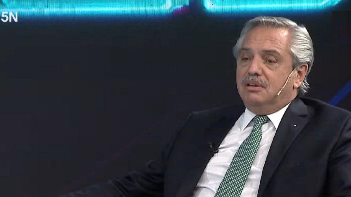 """Alberto Fernandez en C5N: """"Vamos a tomar medidas para reducir la circulacion"""""""