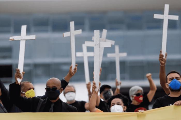 Coronavirus: con 3.800 muertes Brasil bate un nuevo record