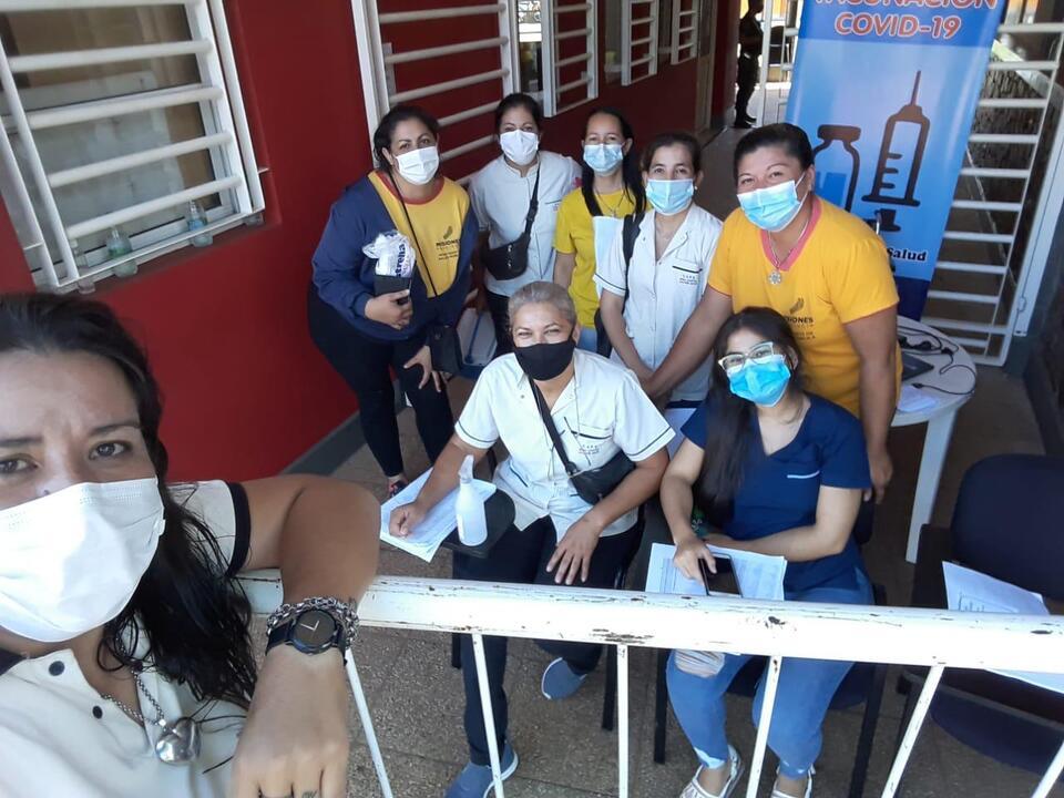 vacunacion masiva en Misiones