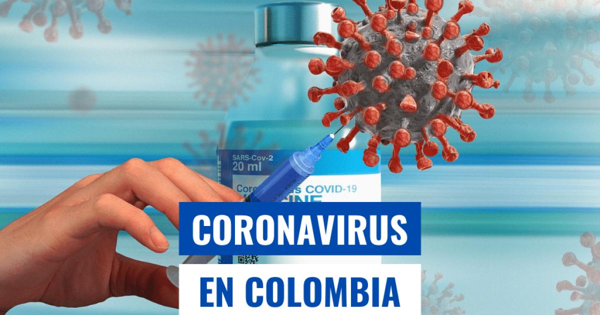 COVID-19 en Colombia hoy: mapa de casos y muertes por coronavirus el 30 de marzo