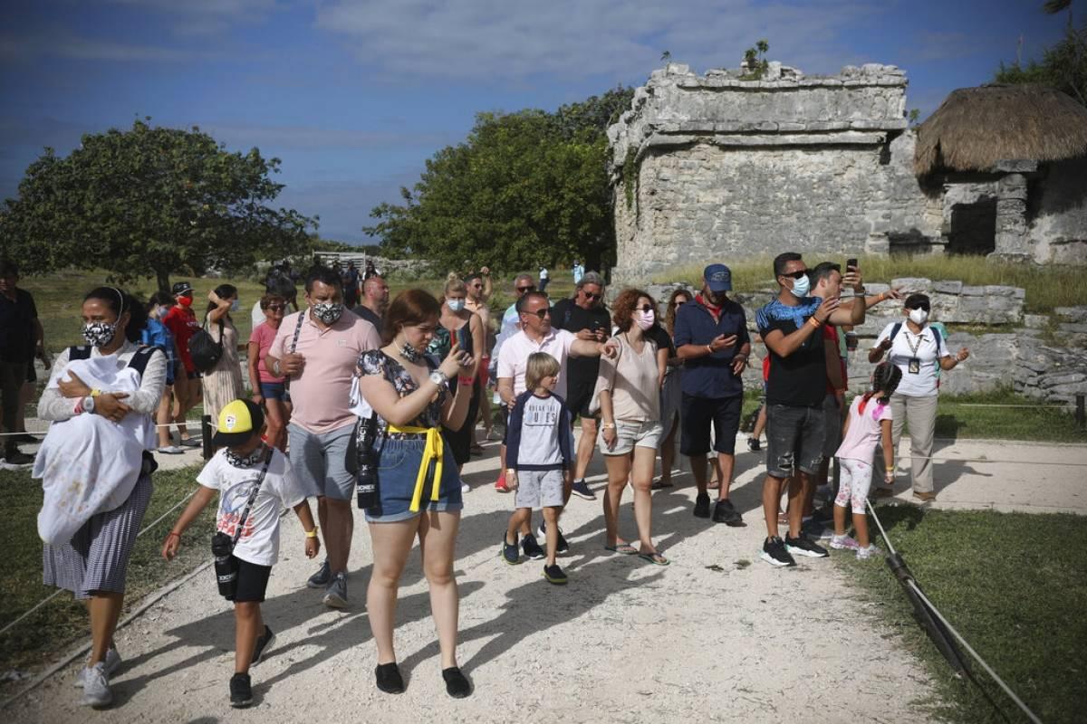 En Mexico tambien denuncian conducta inapropiada por parte de turistas