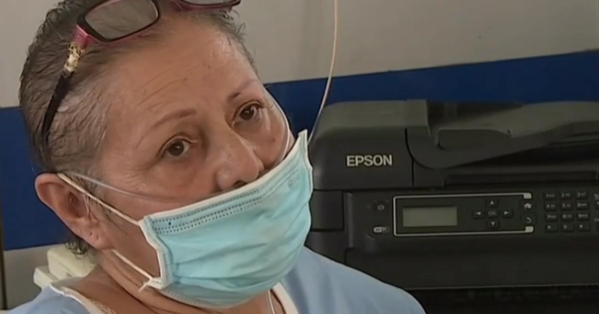 Secuelas del COVID: supero el virus tras 45 dias en UCI, pero aun no logra respirar sin dificultad