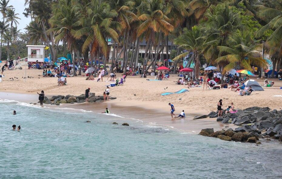 La agencia indico que el mar estaria picado, sobretodo en las playas del norte.