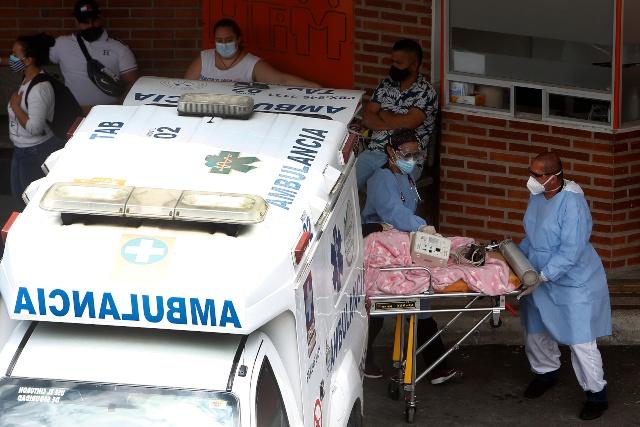 Las camas UCI cada vez mas ocupadas en Manizales: 93%