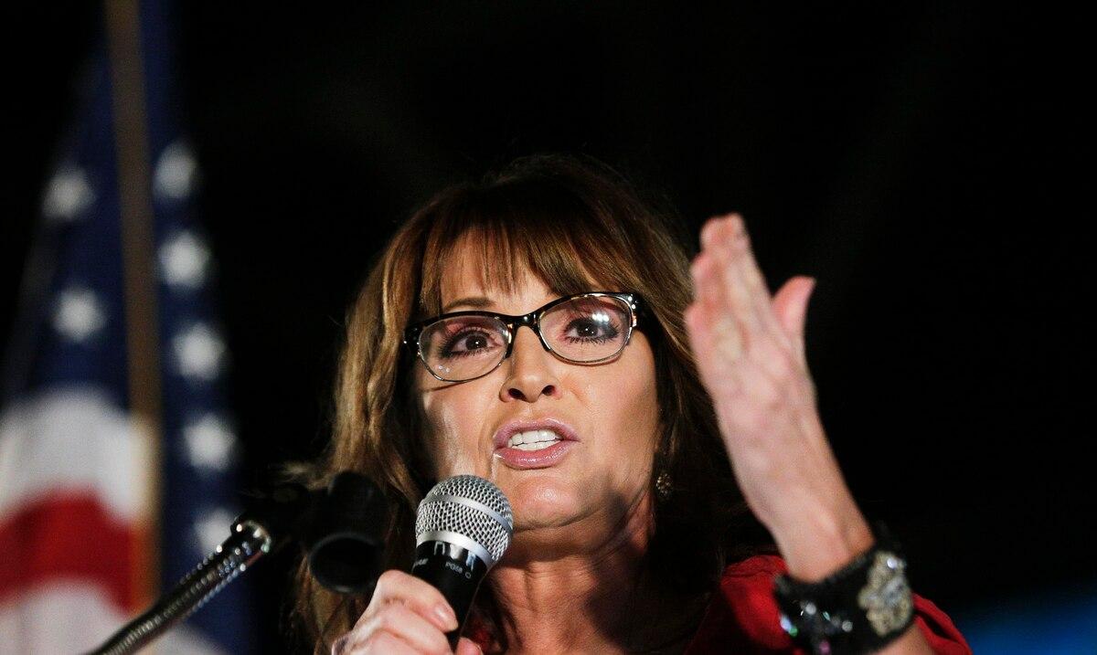 Sarah Palin confirma que dio positivo a COVID-19