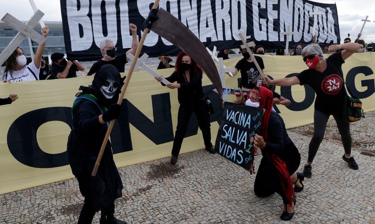 Brasil suma 3,769 muertes y 91,097 nuevos casos por COVID-19 en las ultimas 24 horas