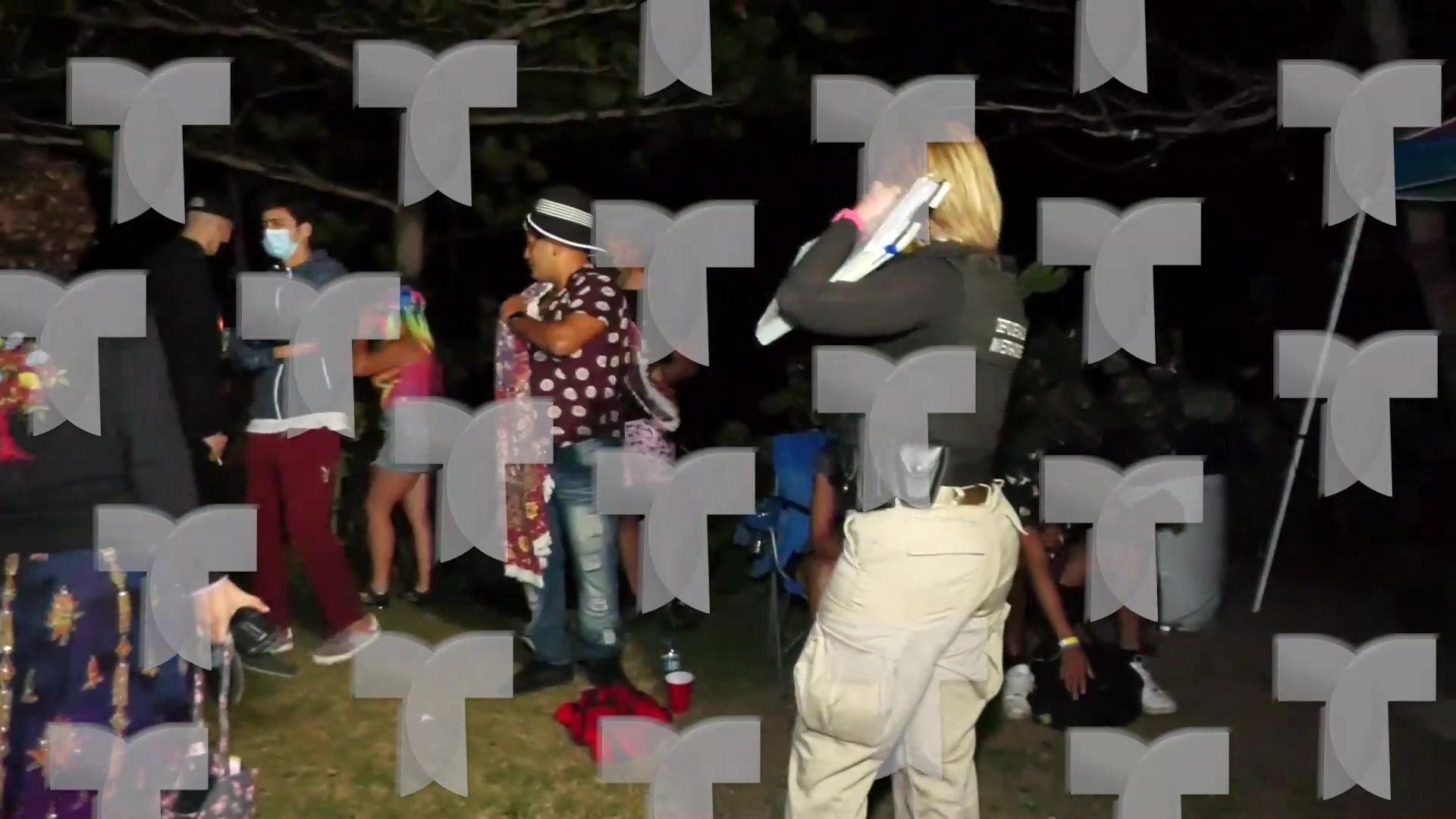Salud interviene con fiesta de musica electronica en Aguada