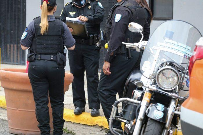 La Policia Municipal de San Juan emite 2,000 boletos de transito en una semana