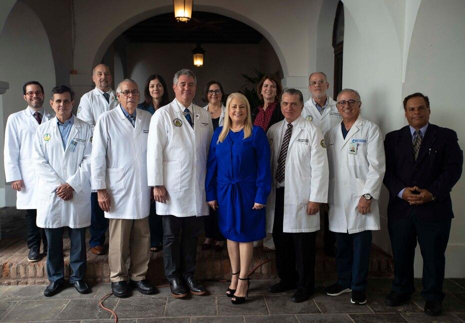 La gobernadora Wanda Vazquez Garced establecio un grupo de trabajo, el task force medico, para examinar los potenciales casos de coronavirus en Puerto Rico.