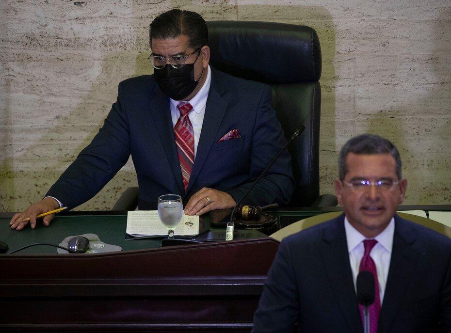 El presidente de la Camara de Representantes, Rafael